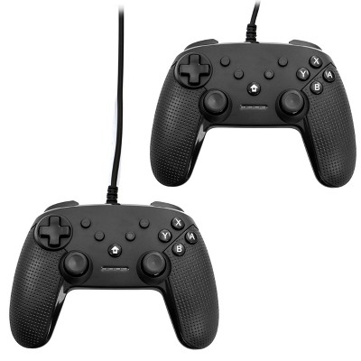 2 Pack Gamefitz Wired Controller for the Nintendo Switch