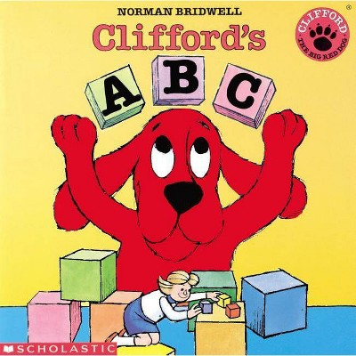 Clifford's ABC - by Norman Bridwell (Paperback)
