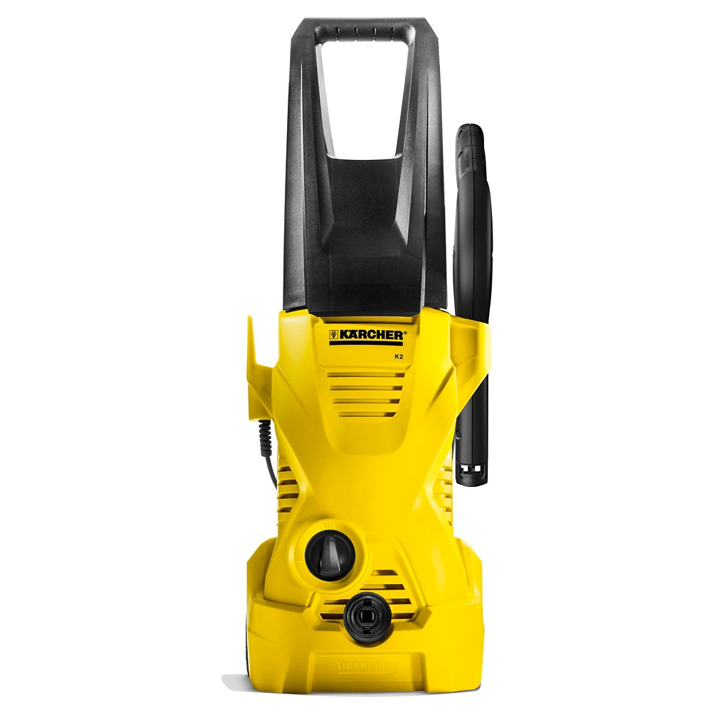 Image of 120 Volts, 1560 Watts K2 Plus 1600 Psi 1.25 Gpm Electric Power Pressure Washer - Yellow - Karcher