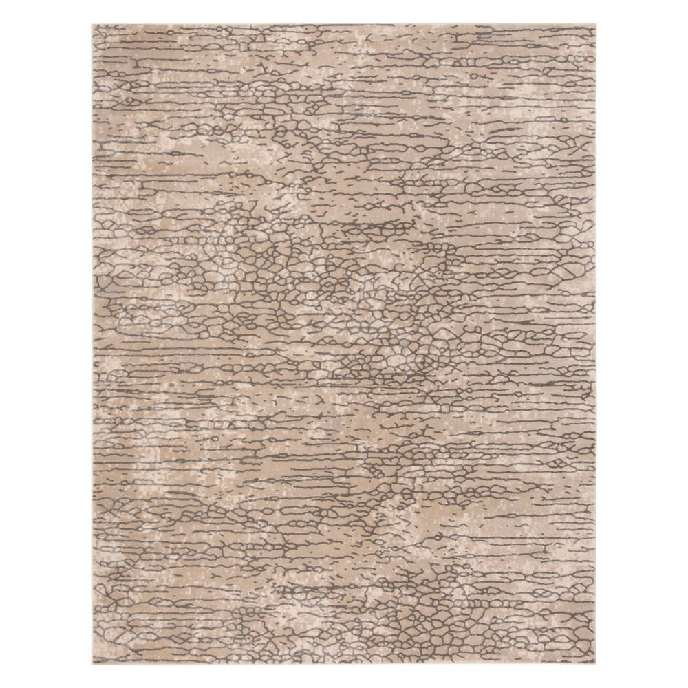8'X10' Pebble Area Rug Beige - Safavieh