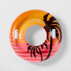 "38"" Swim Tubes w/ Handles Pink - Sun Squad™"