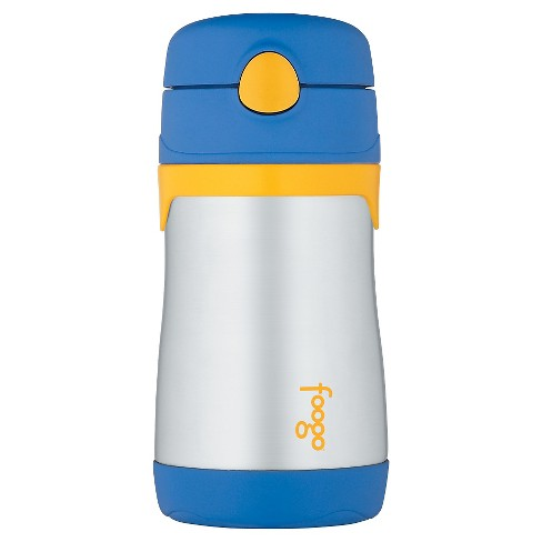 Thermos 10oz Foogo Straw Bottle- Blue - image 1 of 2