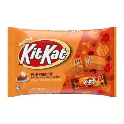 Kit Kat Halloween Pumpkin Pie Candy - 9.7oz