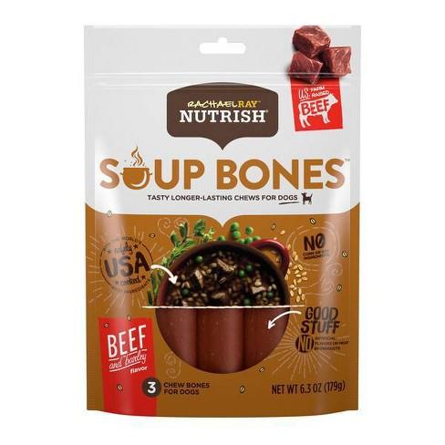 Rachael Ray Nutrish Soup Bones Beef and Barley Dog Treats - image 1 of 2
