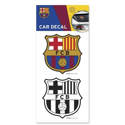 FIFA FC Barcelona Car Decals - image 1 of 3