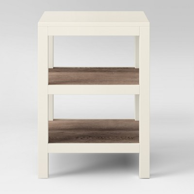 Hadley Accent Table with Shelf Cream - Threshold™