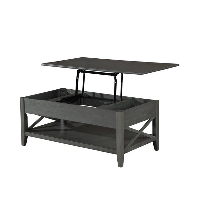 Decatur Farmhouse Lift Top Coffee Table Gray - Christopher Knight Home