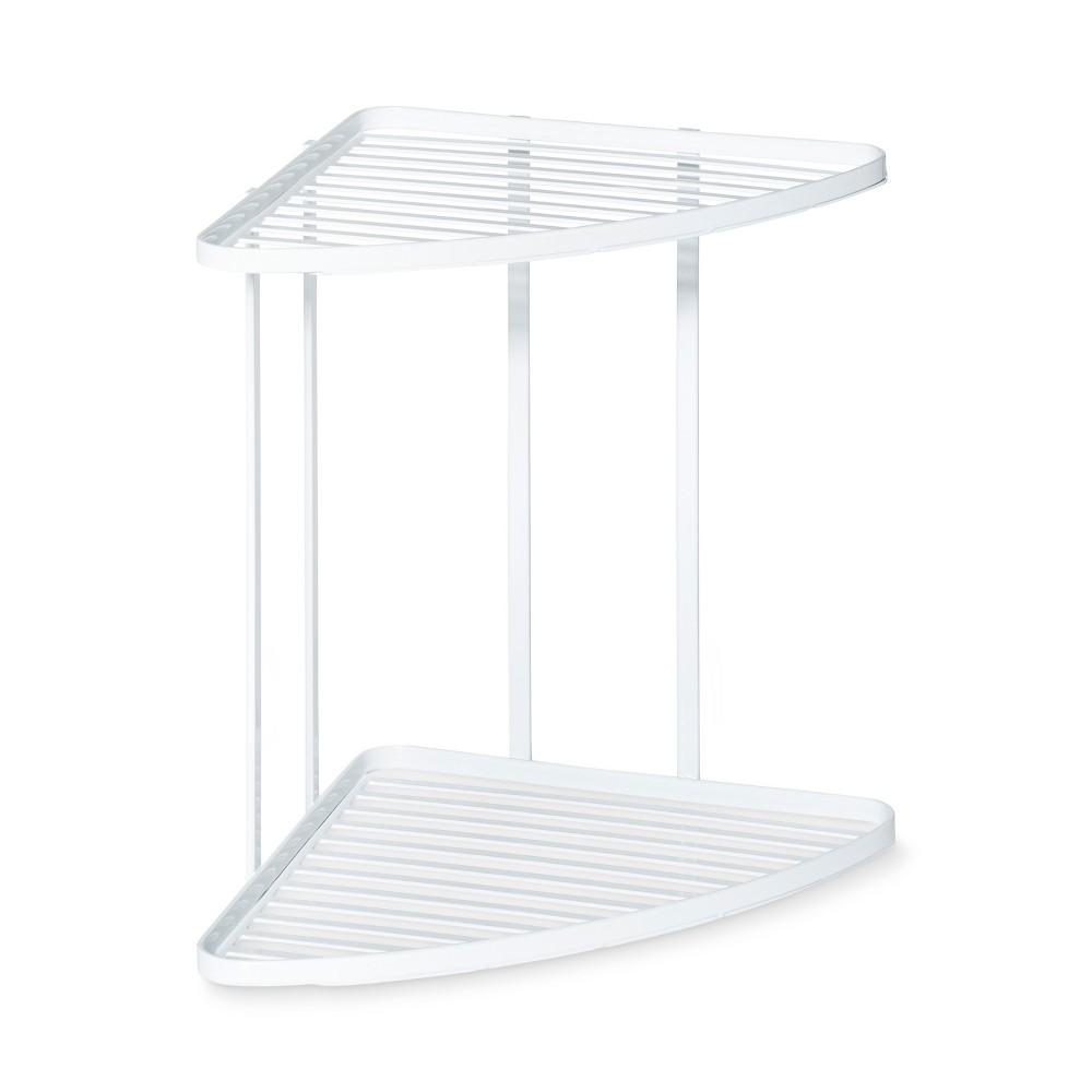 Image of Corner Kitchen or Bath Cabinet Organizer White - 88 Main
