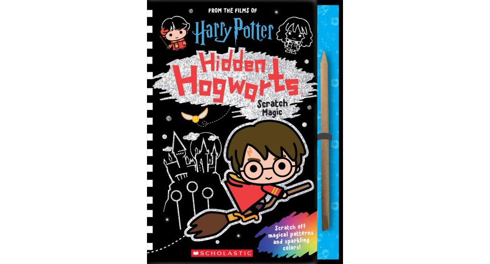Hidden Hogwarts : Scratch Magic - (Harry Potter) (Hardcover)