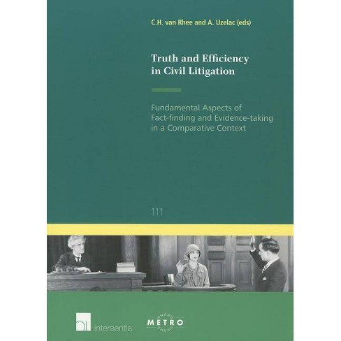 Truth and Efficiency in Civil Litigation - (IUS Commune Europaeum) (Paperback) - image 1 of 1