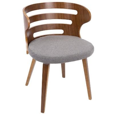 Cosi Mid Century Modern Chair Gray - LumiSource