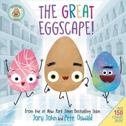 The Good Egg Presents: The Great Eggscape! - by  Jory John (Hardcover)