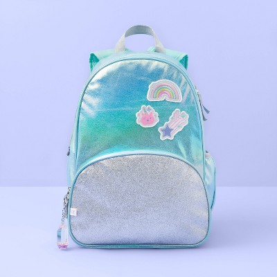 "17"" Kids' Backpack Metallic Patch   More Than Magic Blue by More Than Magic Blue"