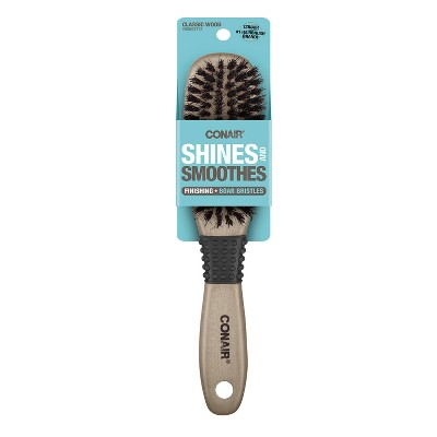 Conair Ceramic Wood All-Purpose Boar Hair Brush