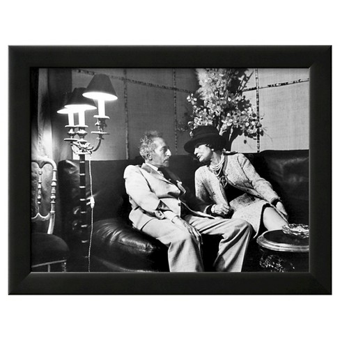 Art.com - Jean Cocteau and Coco Chanel - image 1 of 2