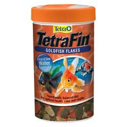 Tetra TetraFin Goldfish Flakes Clean & Clean Water Formula 1.19oz