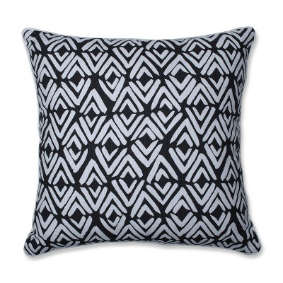 Fearless Ink Oversize Square Floor Pillow Black - Pillow Perfect