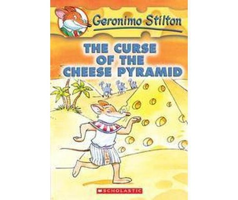 Curse of the Cheese Pyramid (Reprint) (Paperback) (Geronimo Stilton) - image 1 of 1