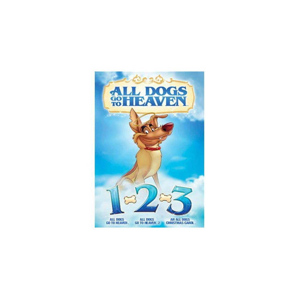 All Dogs Go To Heaven 1 2 & 3 (DVD)(2014) Discounts
