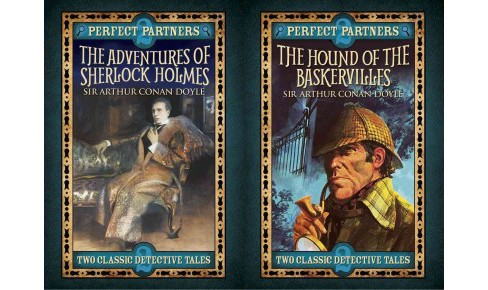 Hound of the Baskervilles / The Adventures of Sherlock Holmes : Two Classic Works of Detection - image 1 of 1