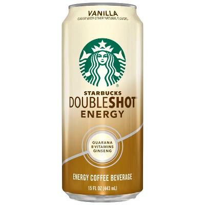 Starbucks Doubleshot Energy Vanilla Fortified Energy Coffee Drink - 15 fl oz Can