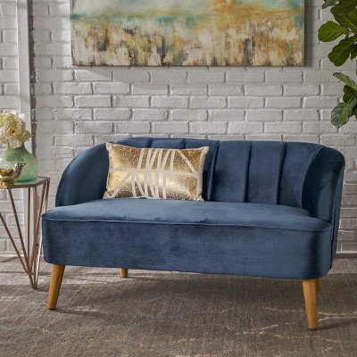 Amaia Modern New Velvet Settee - Christopher Knight Home : Target