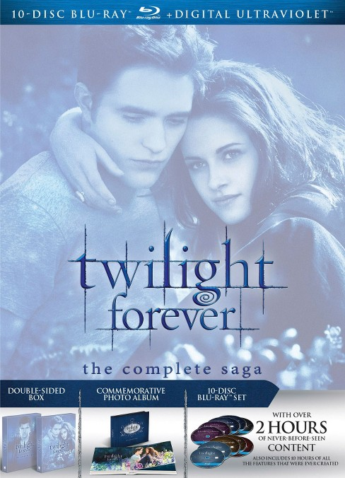Twilight Forever: The Complete Saga (10 Discs) (Blu-ray) - image 1 of 1