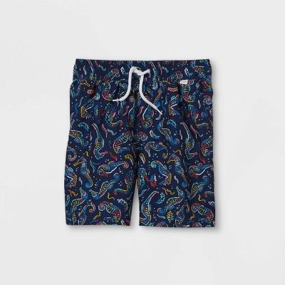 "Boys' Seahorses 15"" Swim Trunks - Cat & Jack™ Blue"