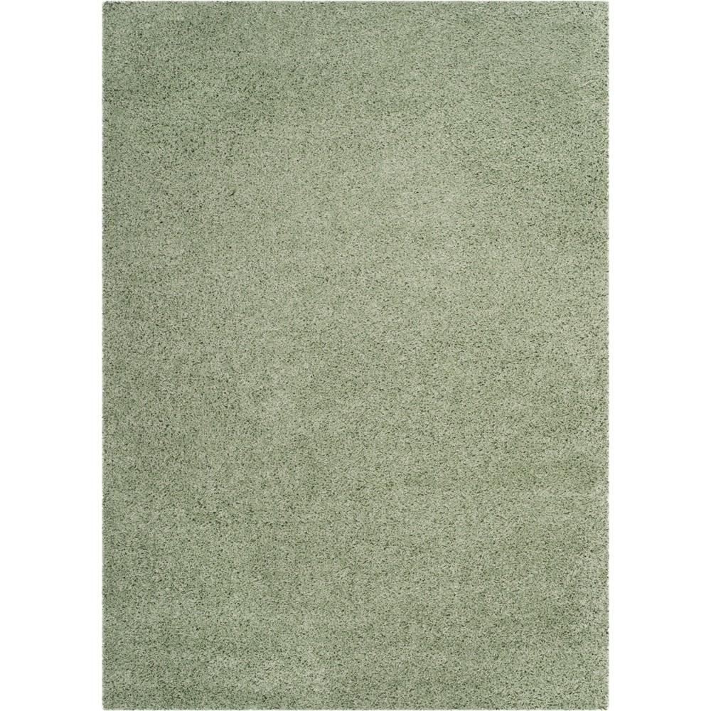 8'X10' Solid Loomed Area Rug Light Gray - Safavieh