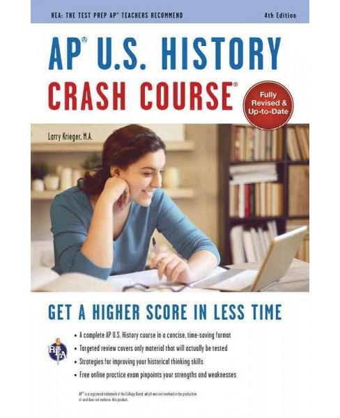 AP U.S. History Crash Course (Paperback) (Larry Krieger) - image 1 of 1