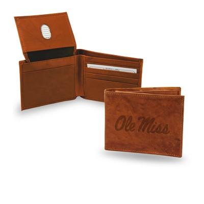 NCAA Rico Industries Embossed Leather Billfold Wallet