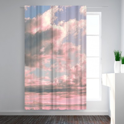 Americanflat Delicate Sky by Emanuela Carratoni Blackout Rod Pocket Single Curtain Panel 50x84