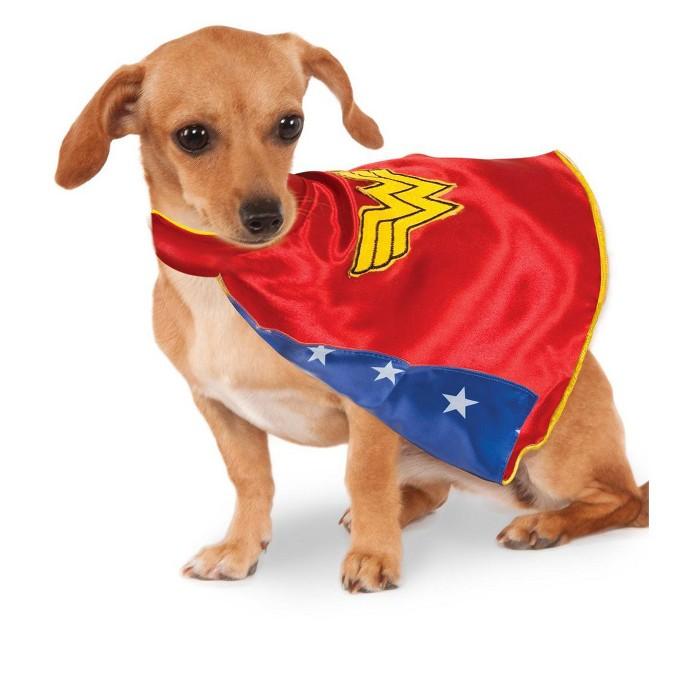 DC Comics Wonder Woman Cape Pet Costume : Target