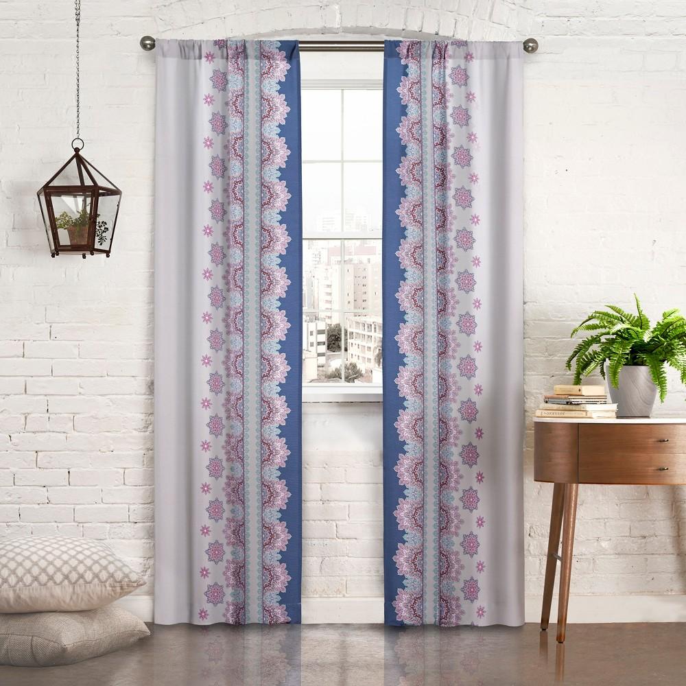 Mantra Panel Pair Purple/Geo 56x63 - Pairs To Go
