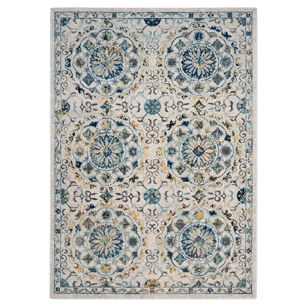 Evoke Rug - Ivory/Blue - (6'7x9') - Safavieh