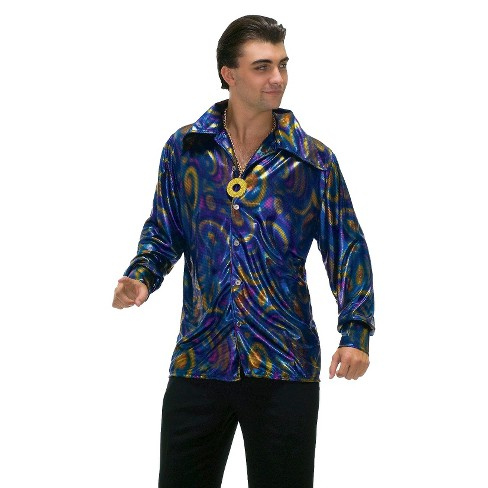 Adult Dynamite Dude Disco T-Shirt Costume - image 1 of 1