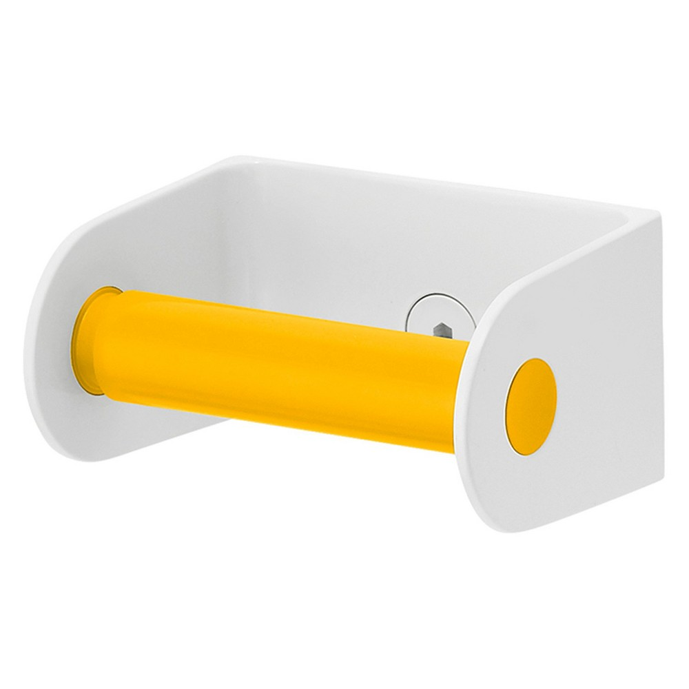 Image of Toilet Paper with Spring Loaded Roll Yellow - Sabi