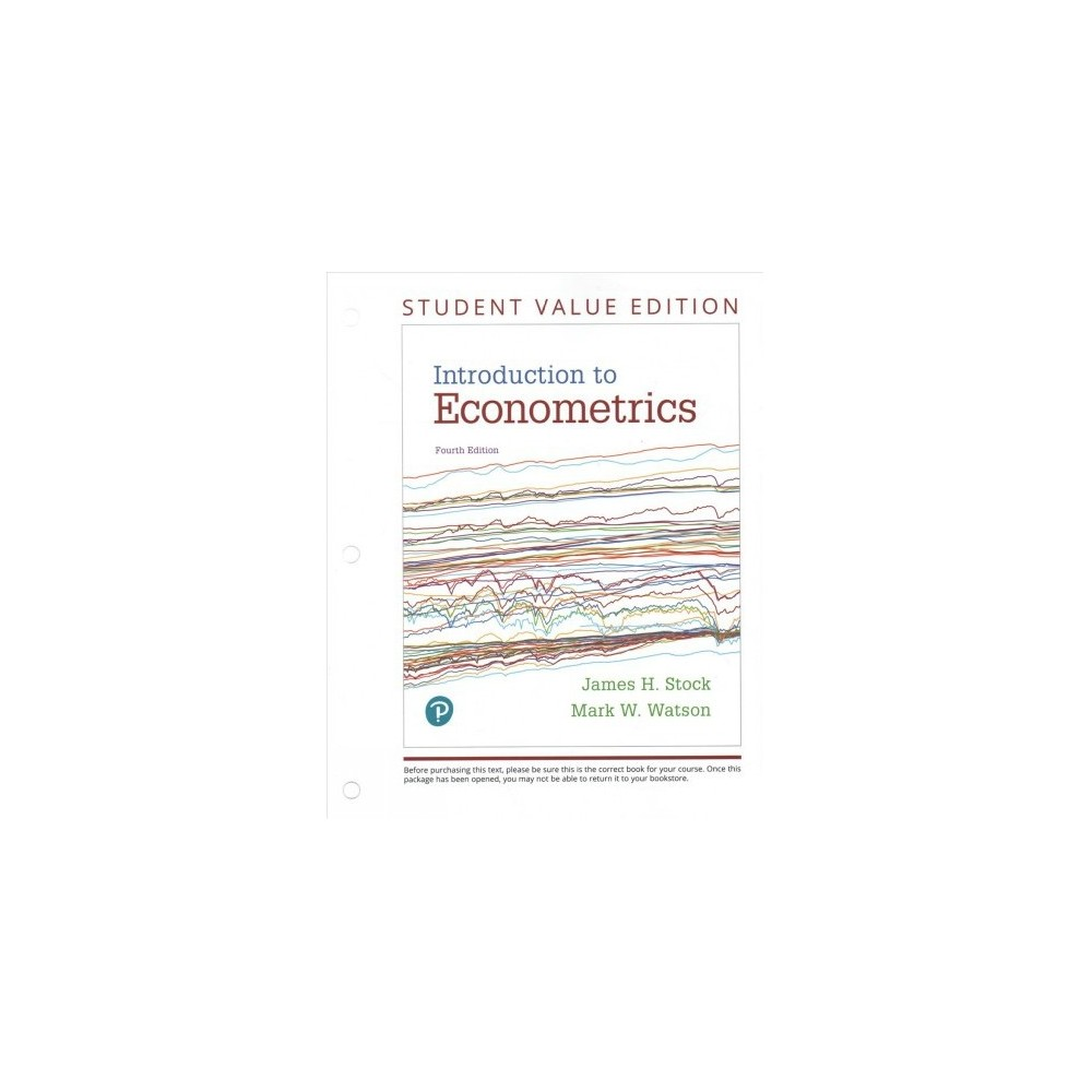 Introduction to Econometrics - 4 Unbnd/PS by James H. Stock & Mark W. Watson (Paperback)