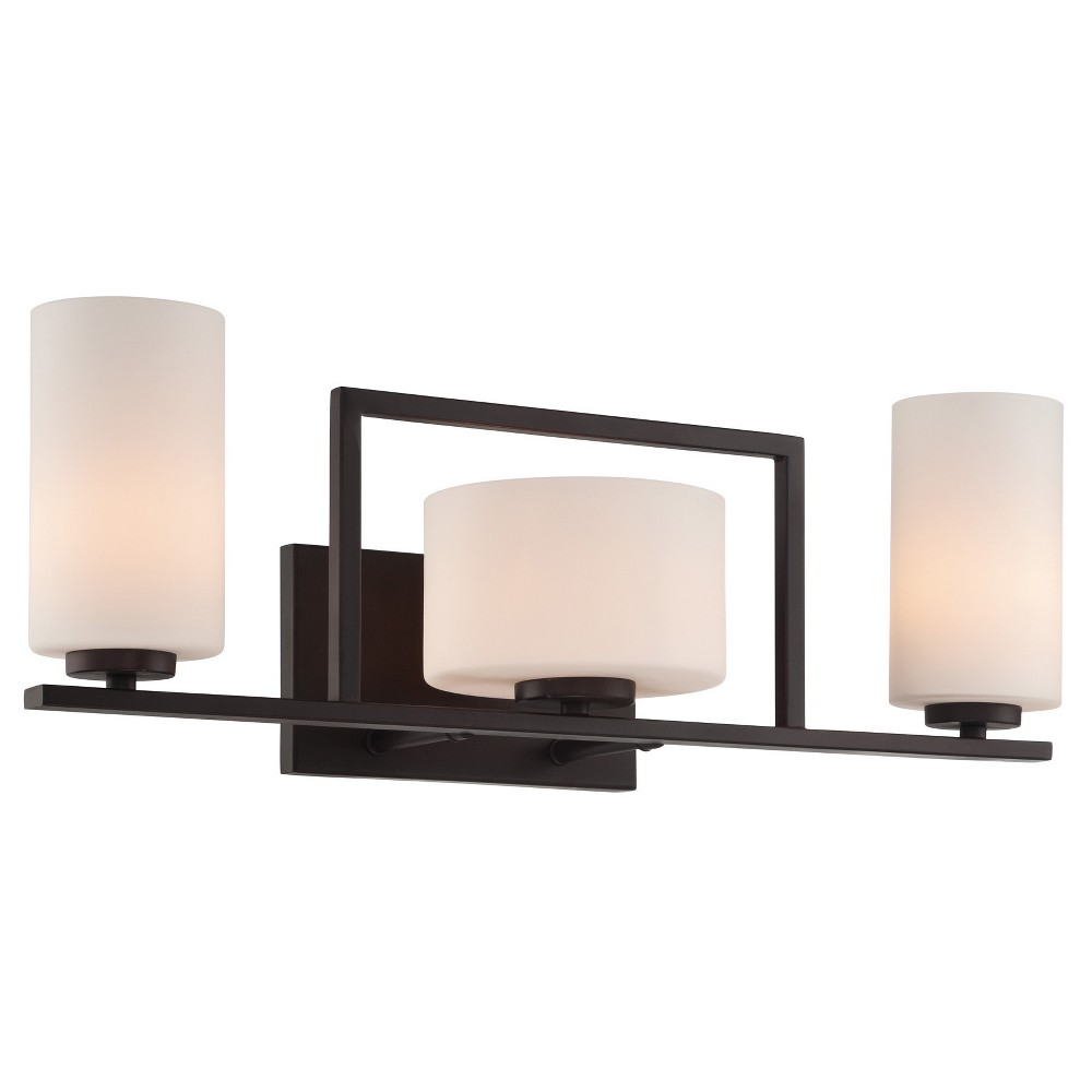 Image of Adalyn Vanity Wall Lights - Dark Bronze - Lite Source, Bronze Cloud
