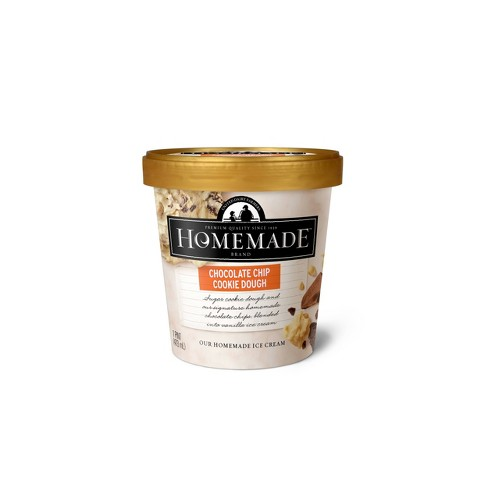 Homemade Brand Chocolate Chip Cookie Dough Ice Cream - 16oz - image 1 of 1