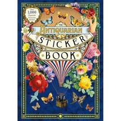 The Antiquarian Sticker Book - (Hardcover)