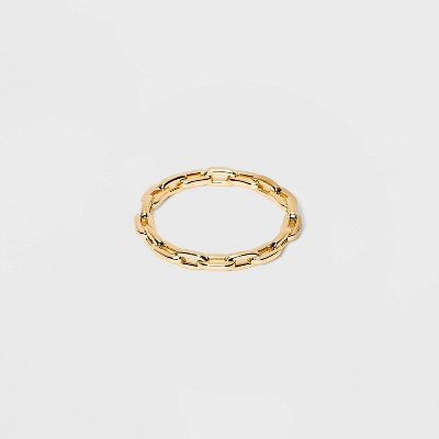 SUGARFIX by BaubleBar Gold Link Chain Ring