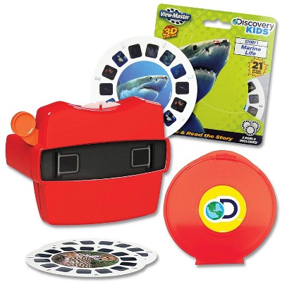 Schylling View-Master & Discovery Kids Reels With Bonus Marine Life Set