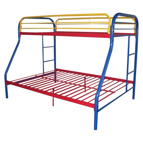 Tritan Kids Bunk Bed - Multicolor(Twin/Full) - Acme - image 1 of 1