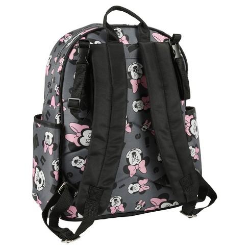 Disney Minnie Mouse Diaper Bag - Gray   Target 0bbadc825158e
