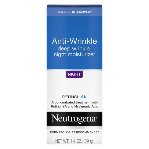 Neutrogena Ageless Intensives Anti-Wrinkle Night Moisturizer - 1.4oz - image 1 of 3