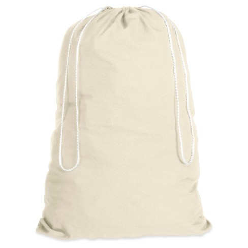 Whitmor Laundry Bag White