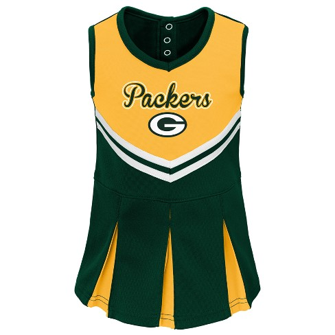 detailed look 090b5 5b474 Green Bay Packers Infant-Toddler In the Spirit Cheer Set 18 M
