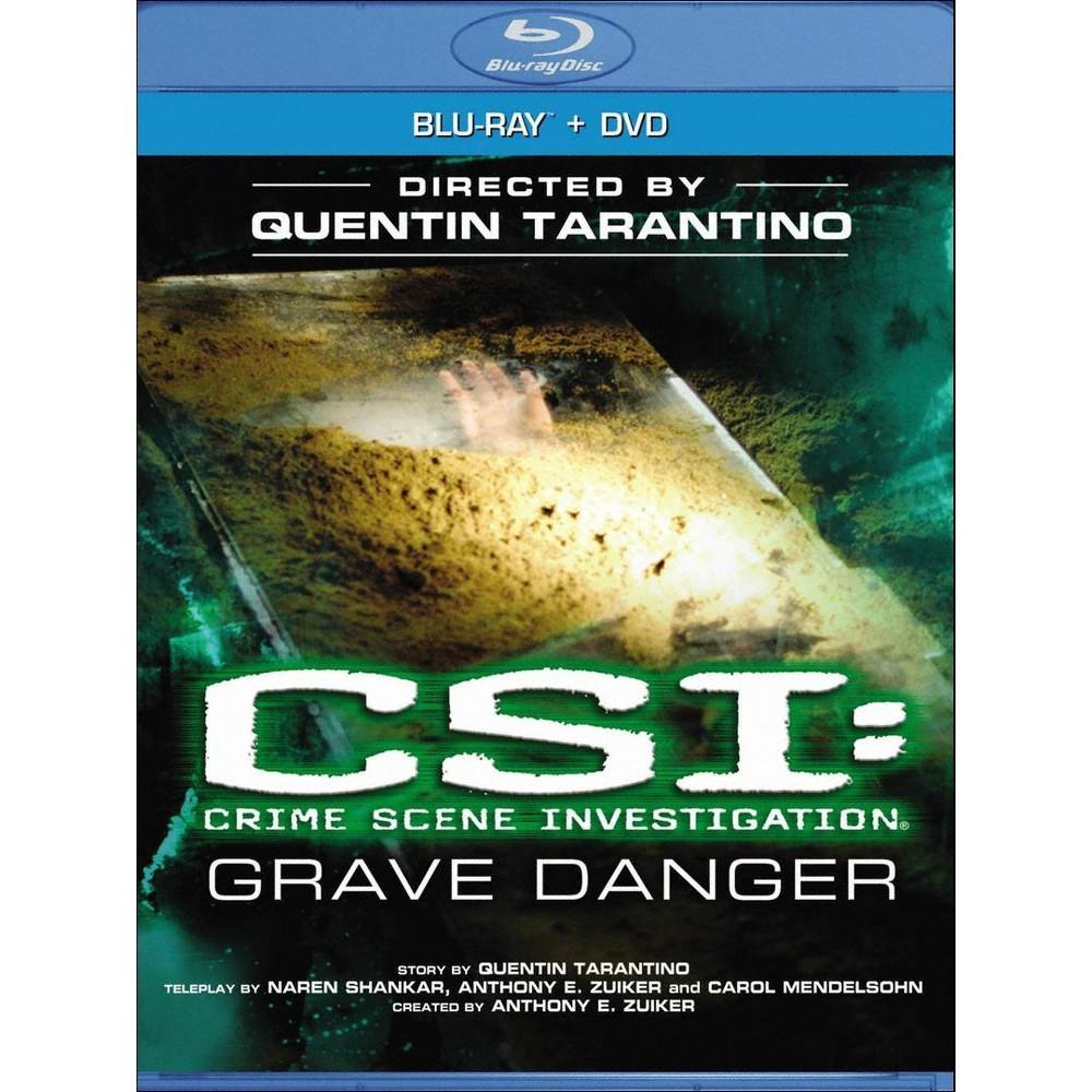 Csi: Crime Scene Investigation - Grave Danger (2 Discs) (Blu-ray/Dvd) (Widescreen)