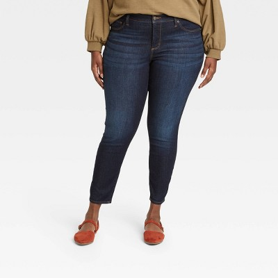 Women's Mid-Rise Skinny Jeans - Universal Thread™